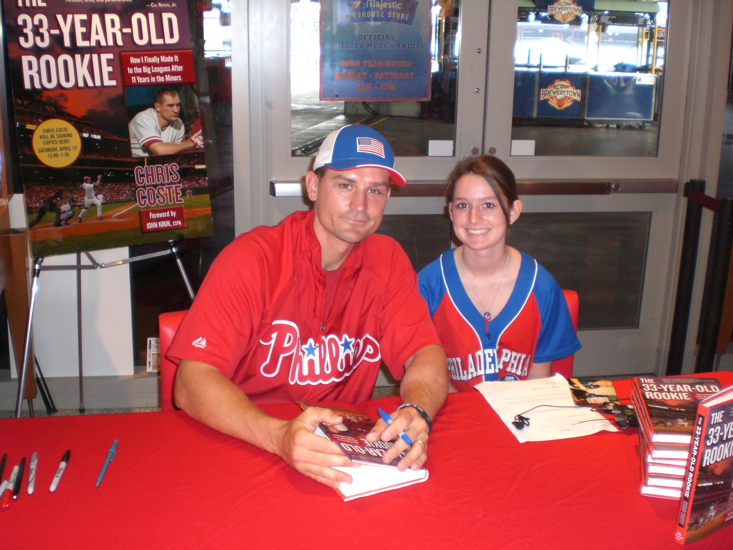 me and Chris Coste again =).JPG
